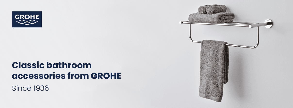 Bathroom Accessories from GROHE at xTWO