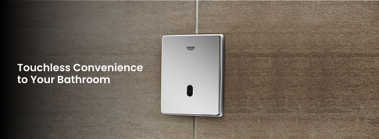 GROHE electronic flush plates at xTWOstore