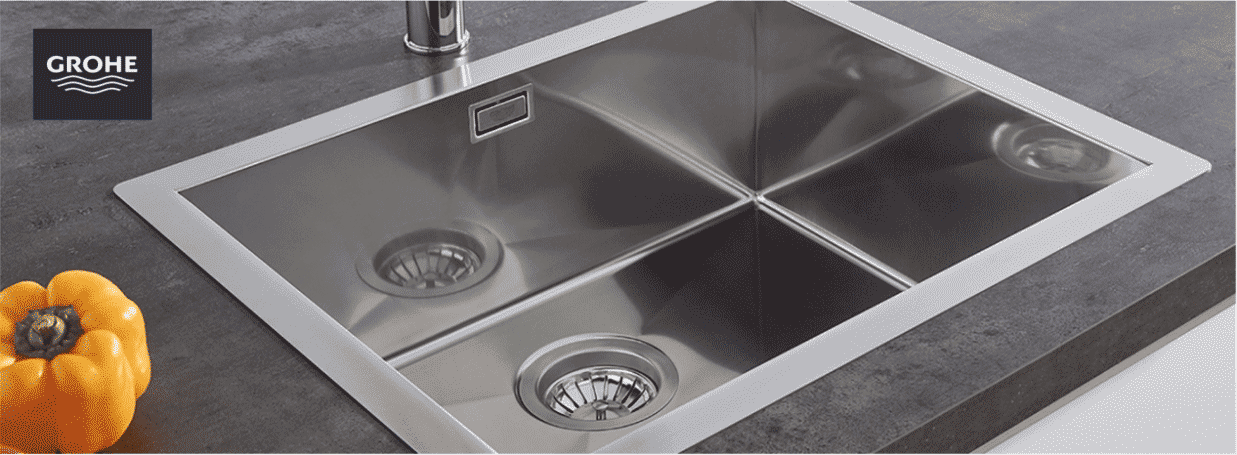 Kitchen Sinks from GROHE at xTWO