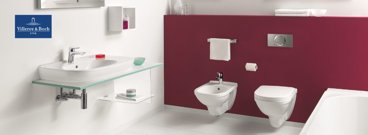 Wall-Mounted Bidets from Villeroy & Boch at xTWO