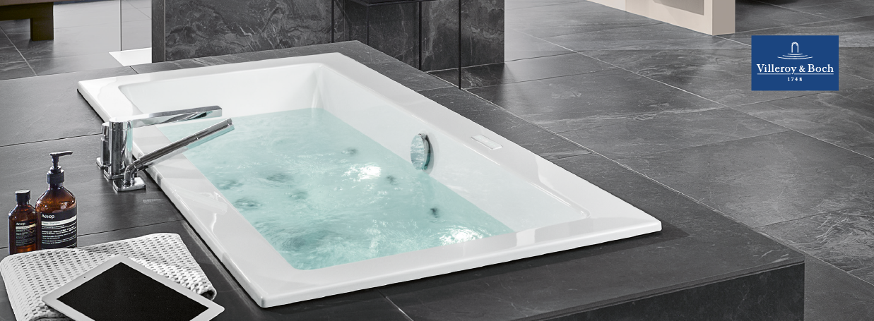 Whirlpools from Villeroy&Boch at xTWO
