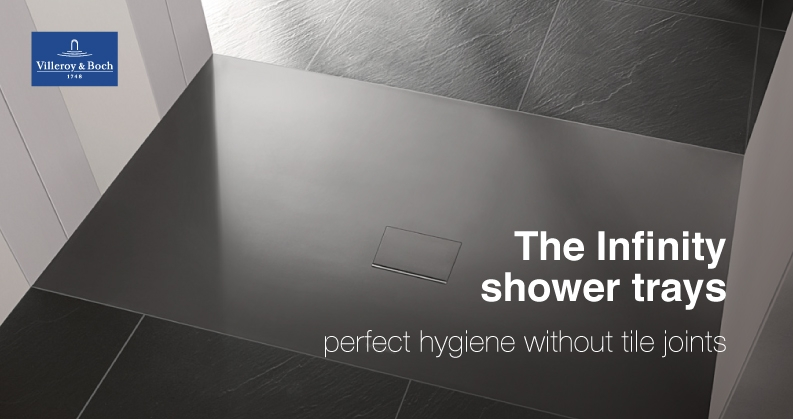 Villeroy & Boch Infinity shower trays