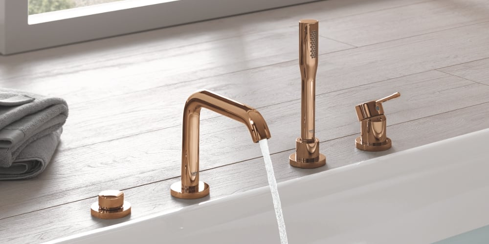 Grohe Essence Wannenarmaturen warm sunset