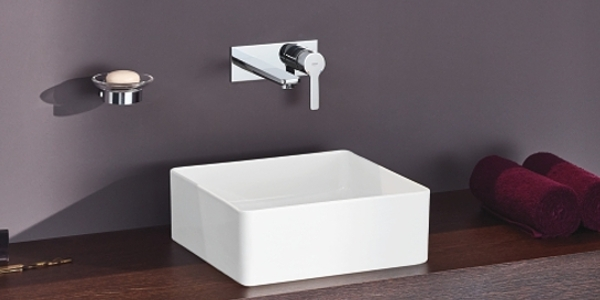Grohe Lineare Wall-Mounted Basin Tap