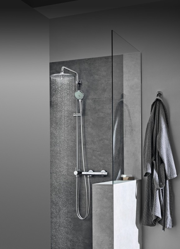 Grohe shower systems with diverter